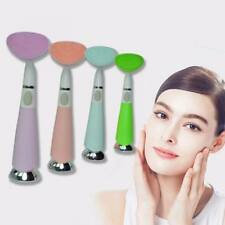 Electric silicone brush facial instrument pore dead skin cleansing beauty tool