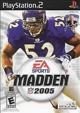 Madden NFL 2005 (Sony PlayStation 2, 2004)/sw