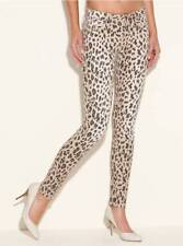 GUESS!! NEW WOMEN'S BRITTNEY ANKLE SKINNY LEOPARD-PRINT JEANS