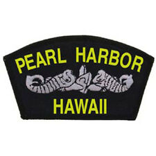 USN Navy USS Pearl Harbor 2.25 x 4 in Embroidered Iron On Patch