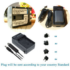 2 NB-2L Battery & AC/DC Charger for Canon EOS 350D, 400D, Rebel XT, Rebel XTi