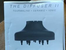 T3 The Diffuser II for Hair Dryer Tourmaline #83808 NEW Frizz Reducer Blow Curly