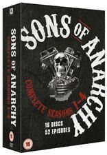 Sons of Anarchy: Complete Seasons 1-4 [Region 2] - DVD - New - Free Shipping.