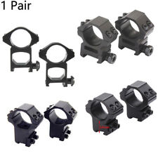 1 Pair 25.4mm/30mm Scope Ring Mount For Weaver Picatinny Rail Tactical Rifle