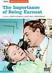 The Importance Of Being Earnest  MICHAEL REDGRAVE (DVD) . FREE UK P+P ..........