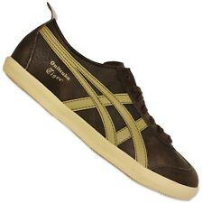 Asics Onitsuka Tiger Mexico 66 Trainers d3y2l-2805 Shoes Smooth Leather Brown