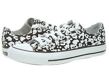 CONVERSE ALL STAR CHUCK TAYLOR BLACK WHITE CHEETAH LOW SNEAKERS 10