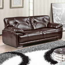 LINKS Pocket Sprung Ultra-Durable Leather Aire Sofa 3 + 2 Seaters + Armchairs