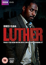 Luther - Complete  Series 1 - Idris Elba (DVD, 2 Disc 2010)