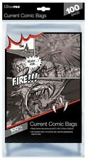 Ultra Pro Comic Bags Current/Silver/Gold/Mag 100/200/500/1000 Regular/Resealable