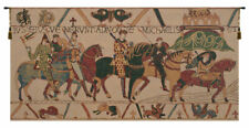 Bayeux, Mont St. Michel Belgian Wall Tapestry