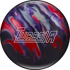 NEW Ebonite Turbo/R Solid Reactive Bowling Ball, Purple/Red/Silver, 10,11&12 LB