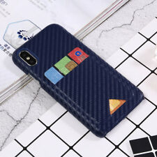 Luxury Ultra-thin PC+PU Leather Wallet Case Cover For iPhone X (10) 6s/7/8 Plus
