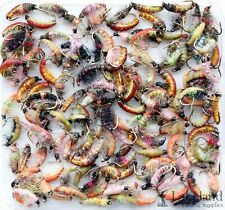 Assorted Mixed Czech Nymphs Trout Flies for Fly Fishing Size 8 10 12 14 16 18