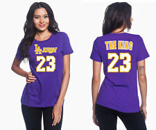 "LeBron James ""LA Bron The King"" - Los Angeles Lakers Women's Graphic T"