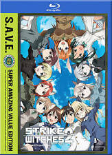 Strike Witches: The Complete Second Season 2  (Blu-ray/DVD, 2012, 4-Disc Set)