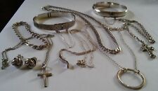 Sterling Silver Mixed Job lot. Nice Little Lot.77 Gram.All Wearable NOT SCRAP £1
