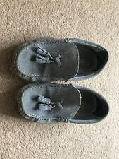 Next Suede Boy Girl Kid Shoes Size 13 Grey