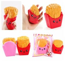 Fast Food Squishy French Fries Slow Rising Squeeze Stress Relieve Toys With OPP