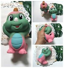 Jumbo Colorful Dinosaur Slow Rising Squishies Scented Squishy Squeeze Charm&Toy