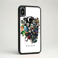 Batman Family Cartoon Robin Silicone Phone Case Cover for iPhone Samsung Galaxy