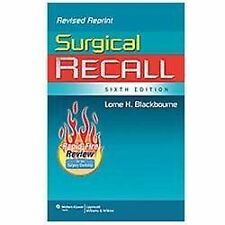 Recall: Surgical Recall by Lorne H. Blackbourne (2011, Paperback)