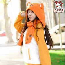Himouto! Umaru-chan Flannel Hat Winter Warm Cute Girls Cosplay Hats Scarf