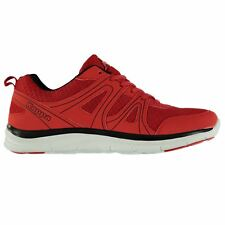 Kappa Dexter Trainers Mens Red/Black Athletic Sneakers Shoes