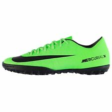 Nike Mercurial Victory AG Artificial Grass Trainers Mens Grn/Blk Football Soccer
