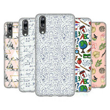 OFFICIAL JULIA BADEEVA ASSORTED PATTERNS 3 SOFT GEL CASE FOR HUAWEI PHONES