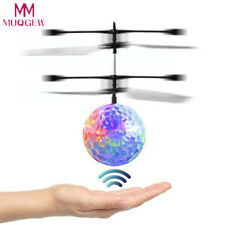 RC Flying Ball Drone Helicopter Ball Built-in Shinning LED Lighting for Kids