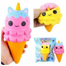 Hot 20CM Jumbo Squishy Slow Rising Unicorn Ice Cream Squeeze Stress Reliever Toy