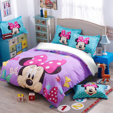 Duvet/Quilt Cover Set Minnie Mouse Pillow Case Twin Full Queen new Disney Style