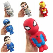 Super Hero Movie Cartoon Characters Squishies Slow Rising Stress Relieve Toys