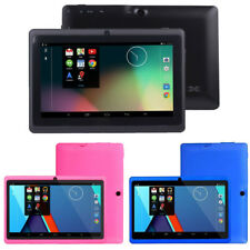 7Inch Android 4.4Duad Core Tablet PC 1GB + 8GB Dual Camera Wifi BT Tablet New