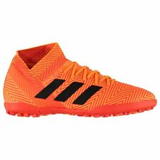 adidas Nemeziz 18.3 Astro Turf Football Trainers Juniors Orange Soccer Shoes