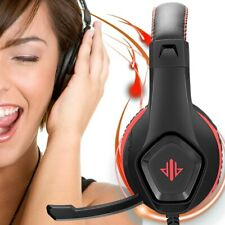 Gaming Headphones Over Ear Noise-canceling Sound Stereo Headset with Microphone