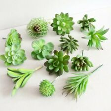 Artificial Succulent Flower Floral Mini Faux Plants Foliage Garden Decor