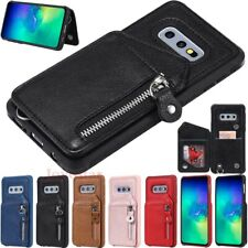 Magnetic Flip Leather Wallet Case Back Cover For Samsung S10 S9 S8 Plus Note 9 8