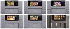 Super Bomberman 1 2 3 4 5 SNES Super Nintendo USA NTSC video game cartridge