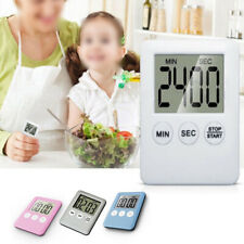 3 buttons Cooking Timer Clock Gadget Large Count-Down Up Chef 99 Minute Slim