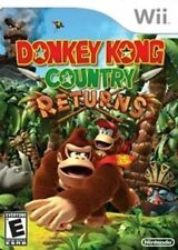 Donkey Kong Country Returns - Original Nintendo Wii game