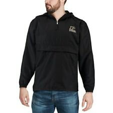 Champion Purdue Boilermakers Black Packable Jacket