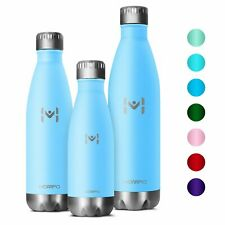 Fashion Vacuum Insulated Water Bottle Double Walled Thermos Kids Outdoor Sports