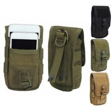 Outdoor Tactical Phone Pocket Army Pouch Belt Military Hiking Waist Pack Bag New