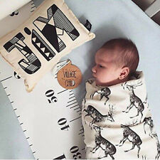 Children Growth Chart Ruler Baby Height Measure Wall Hanging Decal Decor for Kid