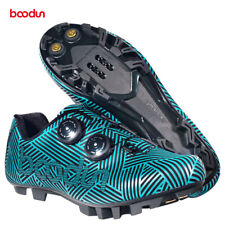 Boodun Cycling Shoes Racing MTB Mountain Bike Shoes Shimano SPD System Synthetic