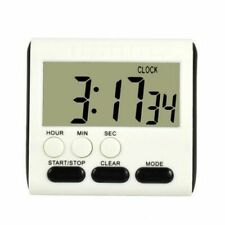 Magnetic Large LCD Digital Kitchen Timer with loud Alarm Count Up& Down Clock