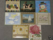 """NEW-LANG THANK YOU NOTE CARDS,8 CARDS+ENVELOPES/4""""X5"""""""