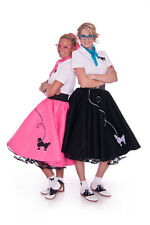 50's POODLE SKIRT Halloween Costume - CHOOSE Size/Color